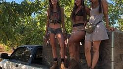 3 cô gái mặc bikini đi làm nông với lý do bất ngờ