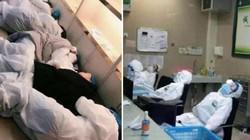 Quay cuồng vì virus Corona, bác sĩ ở Vũ Hán phải tranh thủ ngủ vạ vật, khổ sở