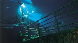 Tàu Titanic lại gặp tai nạn dù đã nằm dưới đáy biển