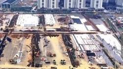 Cận cảnh quá trình xây bệnh viện ở Vũ Hán với tốc độ chóng mặt