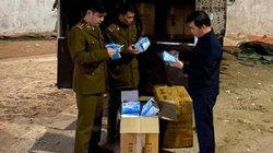 Lạng Sơn: Bắt 305.000 khẩu trang y tế chuẩn bị xuất lậu vượt biên