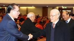 Tổng Bí thư chủ trì Hội nghị gặp mặt nguyên lãnh đạo cấp cao của Đảng, Nhà nước