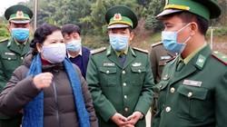 Nữ Bí thư tỉnh Lai Châu thị sát chống dịch Corona tại biên giới
