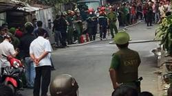 Người đàn ông chém chị vợ, khoá cửa, cố thủ mở bình gas khi công an tới gần