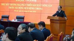 Bộ trưởng NNPTNT: Sau virus corona, không thể khóc mãi vì quả dưa