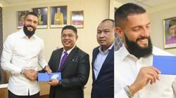 Tái đấu Việt Nam, ĐT Malaysia trình làng cầu thủ nhập tịch thứ 2