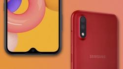 Galaxy A01 ra mắt thị trường Việt, giá chỉ 2,79 triệu đồng