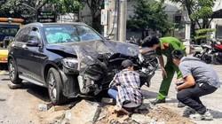 Thực nghiệm hiện trường vụ Mercedes tông chết tài xế GrabBike, làm nữ tiếp viên hàng không trọng thương