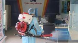 PC Đắk Nông: Gấp rút phun thuốc khử trùng chống virus Corona