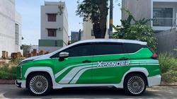 Mitsubishi Xpander độ mâm như Maybach với màu sơn ngoại thất tưởng là Grabcar