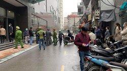 HN: Một người phụ nữ rơi từ tầng cao chung cư xuống đất tử vong