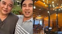 """""""MC giàu nhất Việt Nam"""" choáng ngợp khi thăm cơ ngơi đồ sộ của cặp sao này"""