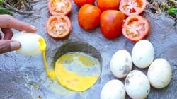 Clip: Cực lạ, dùng trứng và cà chua bắt cả xô cá đầy