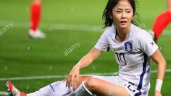 Cận cảnh cầu thủ ĐT nữ Hàn Quốc xinh hơn cả Hoàng Thị Loan