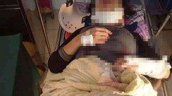 Chồng đóng cửa đánh vợ nhập viện rồi ra vườn treo cổ tự tử