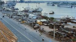 Ảnh màu về bến Bạch Đằng ở Sài Gòn trước 1975