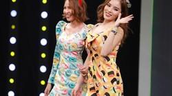 """Hoa hậu Kỳ Duyên và Minh Triệu """"gây bão"""" khi tham gia """"7 nụ cười xuân"""""""