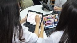 Đà Nẵng: Nghỉ học do virus Corona, học sinh học bài qua mạng tại nhà