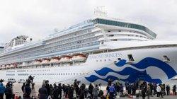 136 người nhiễm virus Corona trên du thuyền chở 3.700 người ở Nhật
