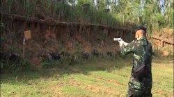 """Video: """"Lạnh người"""" khả năng bắn trúng mục tiêu của quân nhân xả súng ở Thái Lan"""