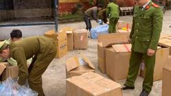 Chặn ôtô chở 119.000 khẩu trang ở cửa khẩu Tân Thanh