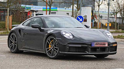 Porsche 911 Turbo S 2020 chạy thử trên phố, dự kiến trình làng vào tháng sau