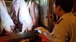 """TP.HCM: Phát hiện 2 lô thịt lợn """"bẩn"""" có giấy kiểm dịch từ Long An"""
