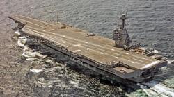 Choáng: Tàu sân bay 13 tỷ USD của Mỹ không thể tự vệ khi tham chiến