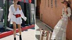 Học các hotgirl cách diện trang phục màu trắng đẹp như một nàng thơ