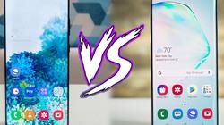 """So sánh nhanh hai """"người khổng lồ"""" Galaxy S20 Ultra và Galaxy Note 10+"""