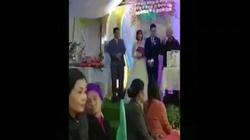 """Clip: Phì cười với màn phát biểu """"nhầm nhọt"""" trong đám cưới"""