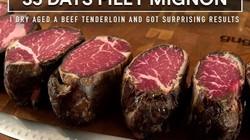 Thịt bò Wagyu thượng hạng có vị thế nào sau khi để đông lạnh hơn một tháng?