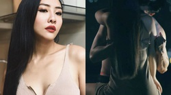 """Cháu gái 18 tuổi của Trang Nhung không ngại ngần khi đóng """"cảnh nóng"""""""