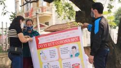 ẢNH: Sơn Lôi hàng ngày chống dịch virus corona