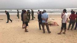 Phát hiện thi thể ngư dân Quảng Trị ở bờ biển