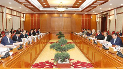 Tổng Bí thư, Chủ tịch nước chủ trì họp Bộ Chính trị về Văn kiện Đại hội XIII