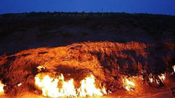 """Vùng đất """"Hỏa diệm sơn"""" bốc cháy không ngừng nghỉ suốt 4.000 năm"""