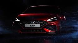 Hyundai i30 thế hệ mới lộ ảnh phác thảo trước ngày ra mắt chính thức