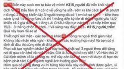 Cô gái đăng tin 315 người trốn khỏi vùng dịch Vĩnh Phúc đã bị xử lý