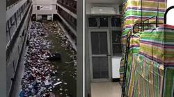 Ký túc xá ĐH Vũ Hán biến thành khu cách ly, đồ đạc sinh viên bị vứt không thương tiếc