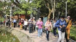 Các điểm tham quan ở Hà Nội đông khách du lịch quốc tế trở lại