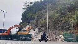 Núi đá di sản vịnh Hạ Long bị đục phá làm... vỉa hè
