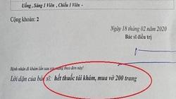 Vì sao bệnh nhân bị thấp khớp mà bác sĩ dặn... mua vở 200 trang?