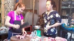 Covid-19 ở Hà Nội: Giá thịt lợn hạ nhiệt nhưng vẫn neo ở mức cao