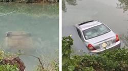 Ô tô chìm nghỉm dưới sông, nữ tài xế tử vong trên ghế lái