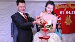 Người mẫu Huyền Thư lên xe hoa với ca sĩ Anh Tuấn