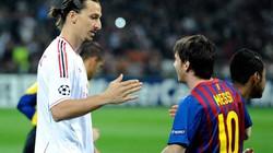 """Ibrahimovic ca ngợi Messi, """"dìm hàng"""" Ronaldo"""