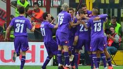 """Milan bất ngờ """"ngã ngựa"""" trước Fiorentina"""
