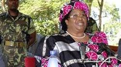 Malawi đón nữ Tổng thống đầu tiên