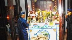 Lễ tạ nghề ở xứ Cù Lao